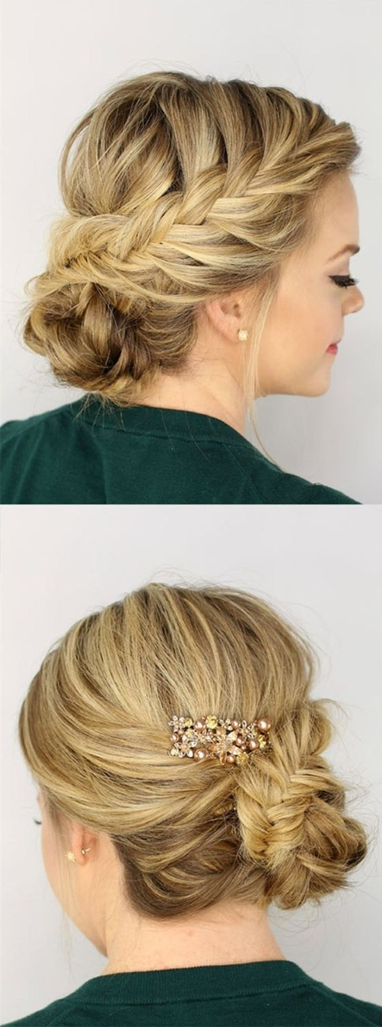 8 Gorgeous Braided Updos You Must Try | Medium Long Hair, Medium For Homecoming Updos Medium Hairstyles (View 2 of 15)