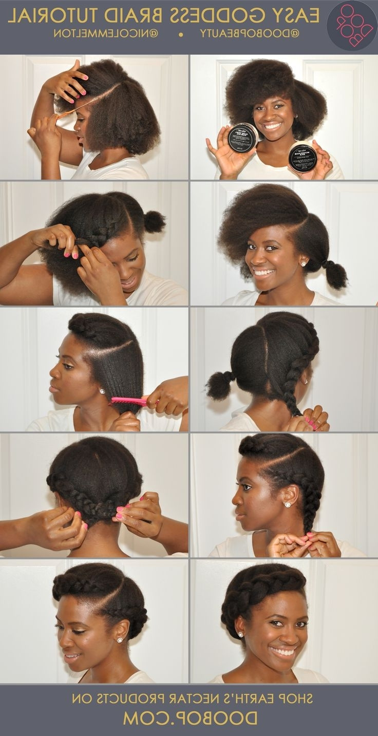 82 Best Black Hair Updos Images On Pinterest | Hair Dos, Black Hair Within Quick Updo Hairstyles For Natural Black Hair (Gallery 10 of 15)