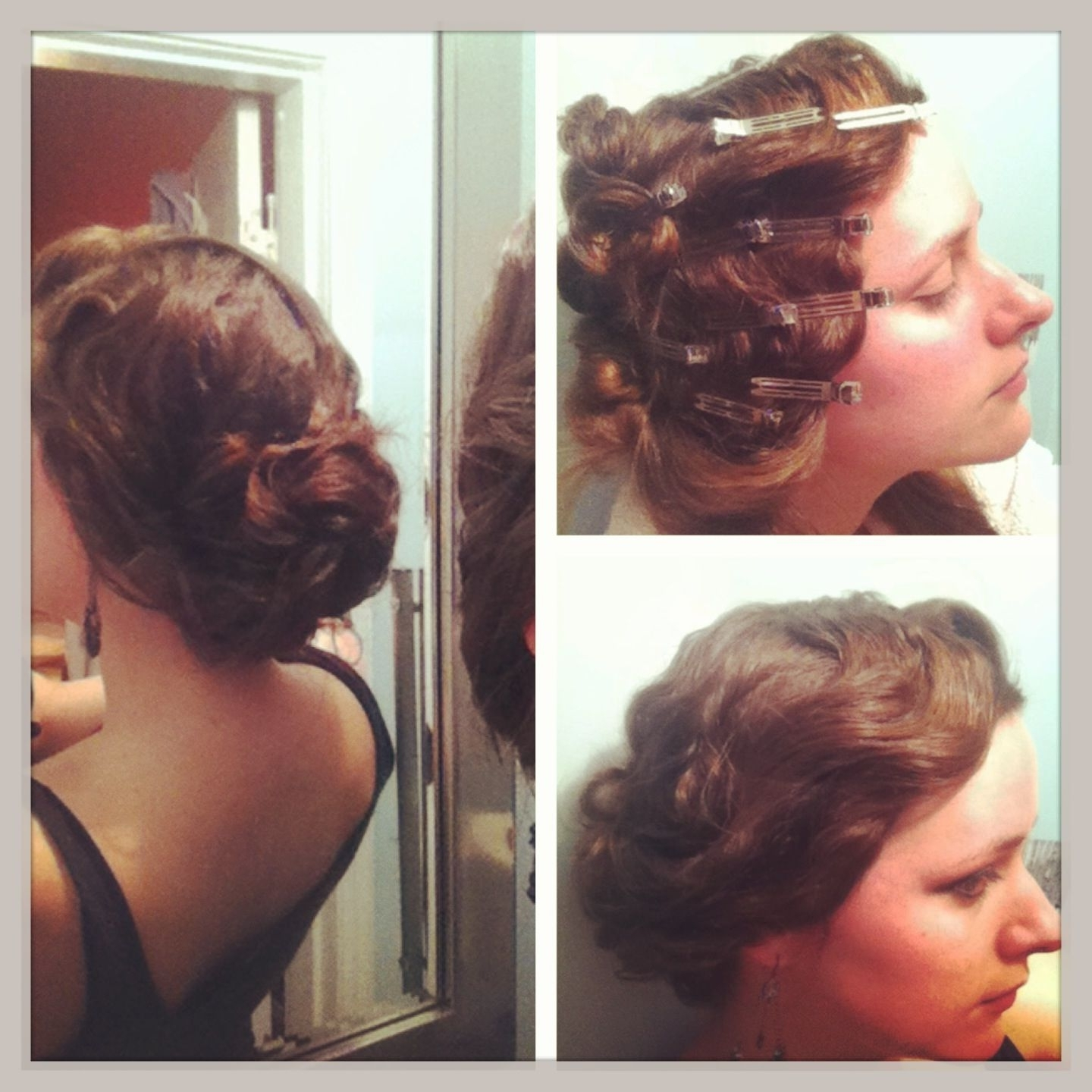 A 1920s Finger Wave For Long, Thick Hair (View 12 of 15)