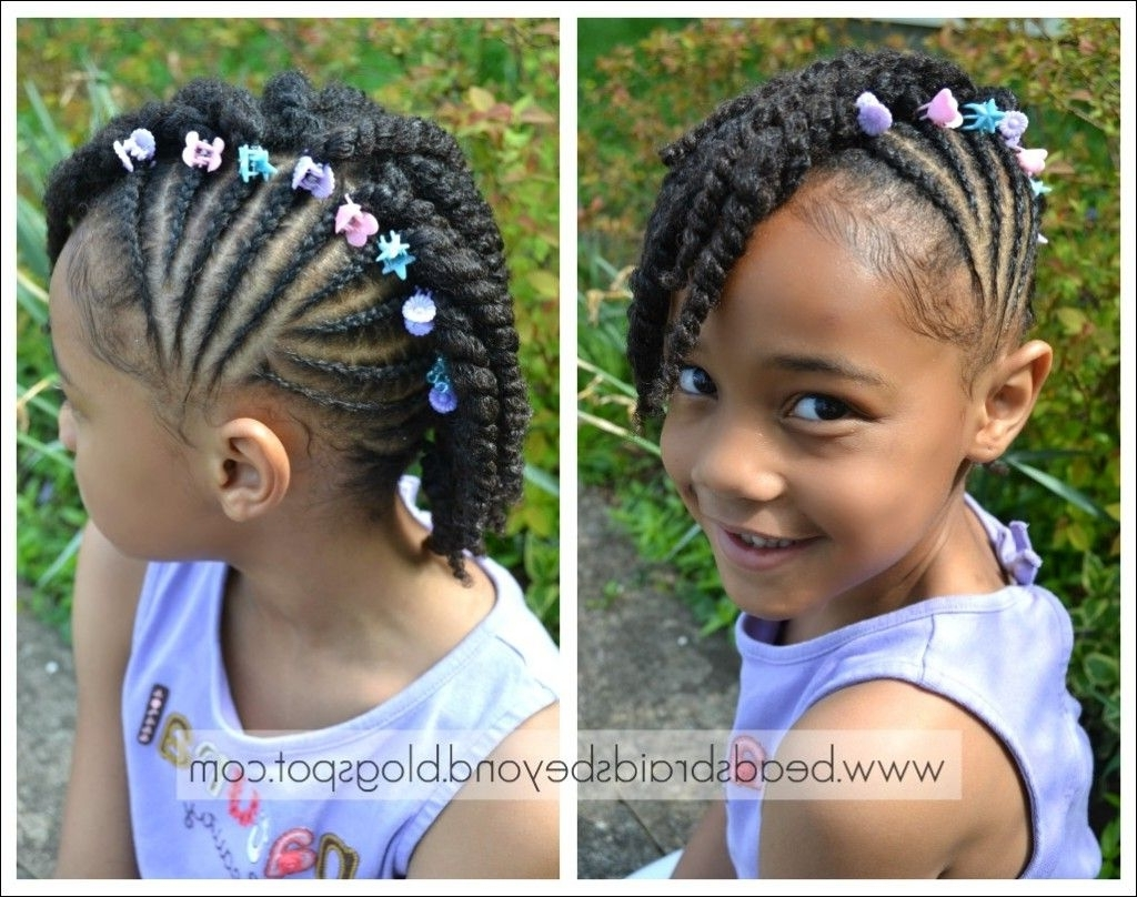 African American Toddler Braided Hairstyles | Galleryhip – The Throughout Cute Updos For African American Hair (View 14 of 15)