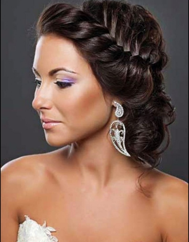 Photo Gallery of Updo Hairstyles For Weddings Black Hair (Viewing 6 ...