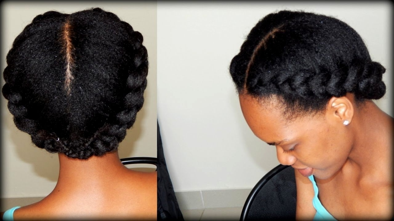 African Natural Braided Hairstyles – Hairstyle Picture Magz With Regard To Updos For African American Natural Hair (View 7 of 15)