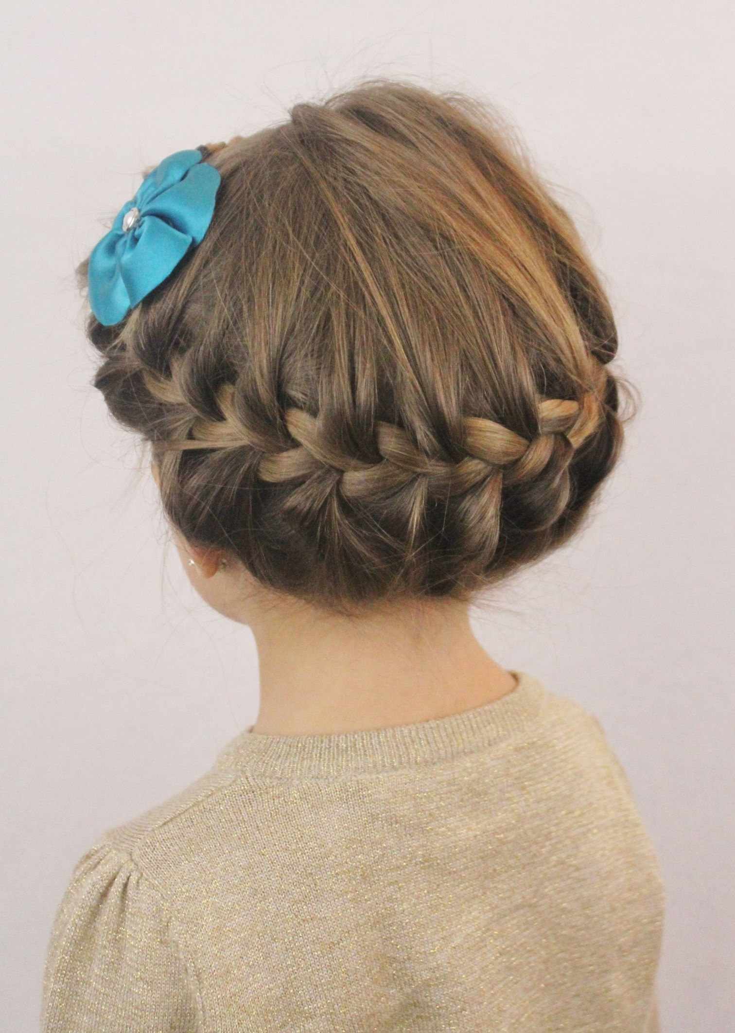 Awesome Easy Princess Hairstyles Harvardsolcom Image Of For Kids With Easy Updo Hairstyles For Kids (View 3 of 15)
