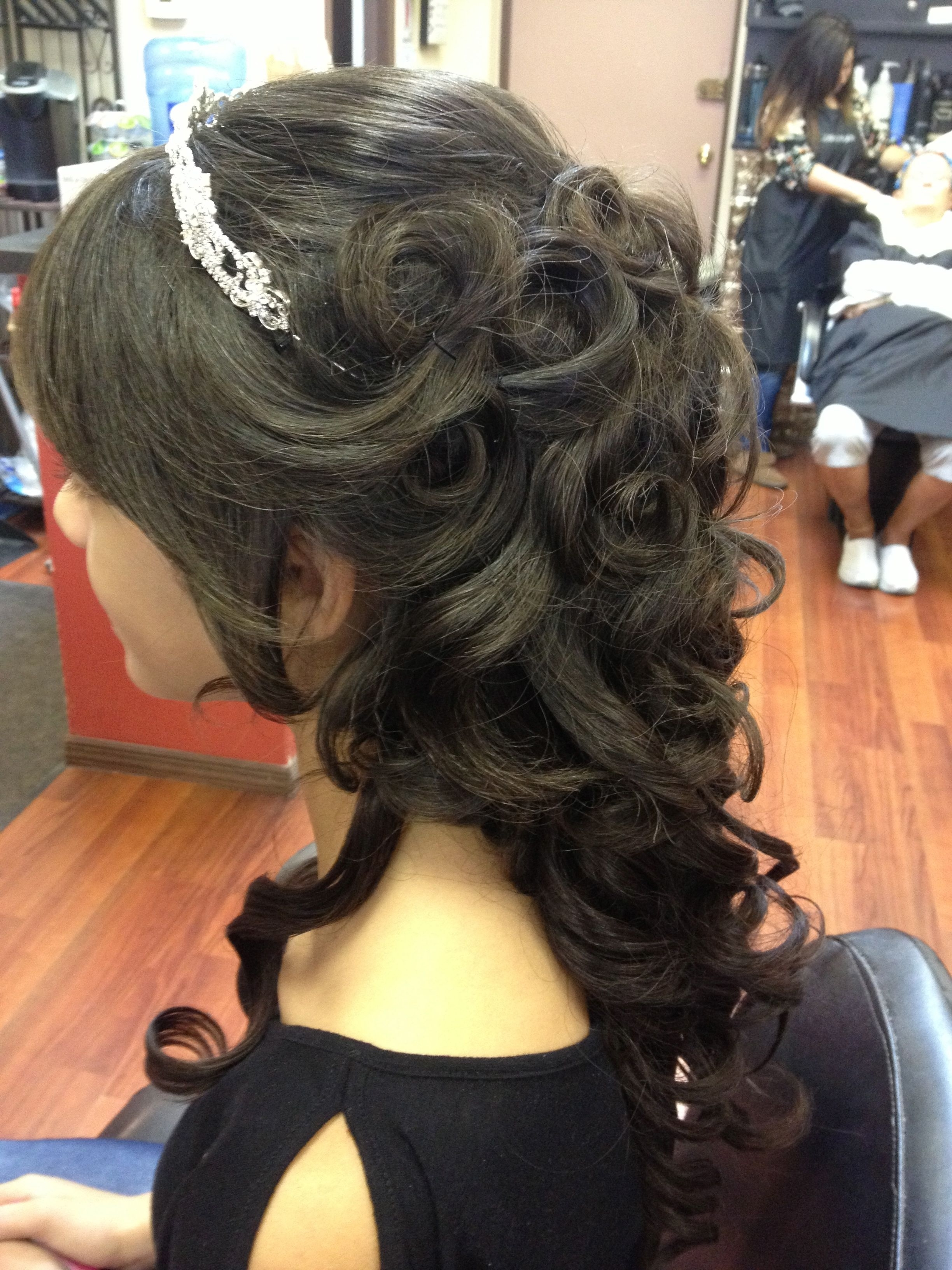 Photo Gallery Of Updo Hairstyles For Sweet 16 Viewing 9 Of
