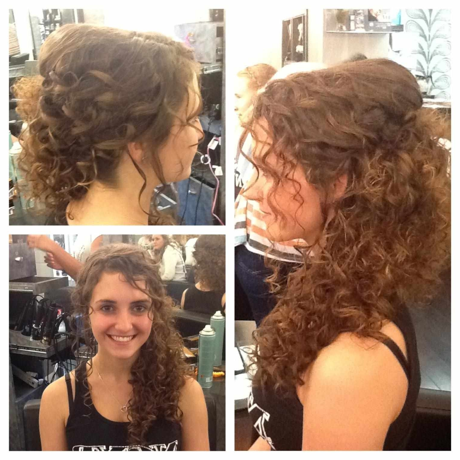 Big Day Azazie Casual Updos Homecoming Our Top List Updo And Casual With Casual Updos For Curly Hair (View 4 of 15)