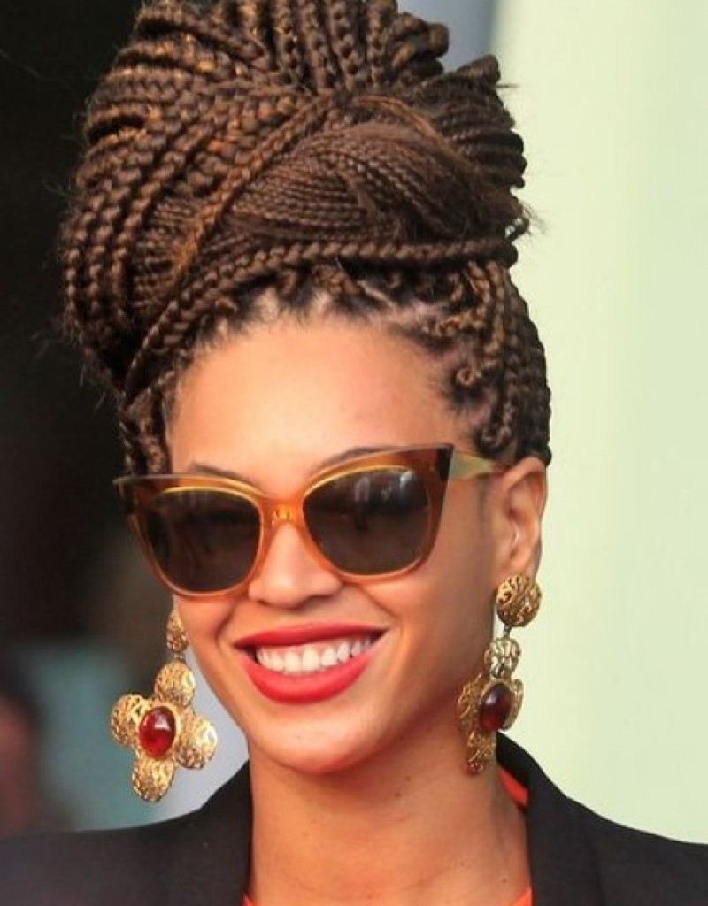 Black Braided Updo Hairstyles Pictures 2016 Updo Hairstyles For With Braided Updo Hairstyles For Black Women (View 3 of 15)