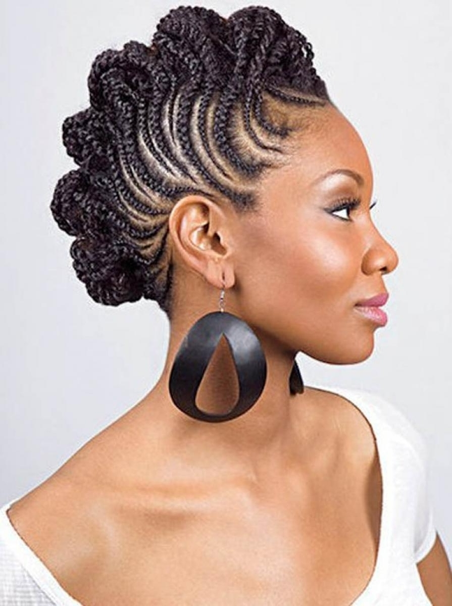 Black Braids Hairstyles Updos – Hairstyle Picture Magz Intended For Urban Updo Hairstyles (View 1 of 15)