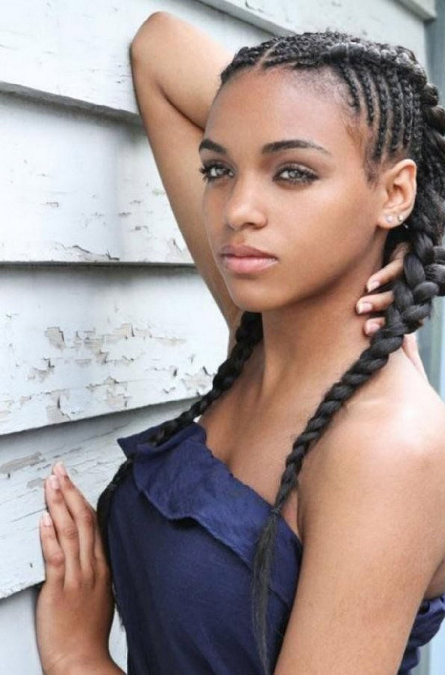 Black Girl Hair Extensions Hairstyles – Hairstyle Foк Women & Man In Throughout Braided Updos With Extensions (View 10 of 15)