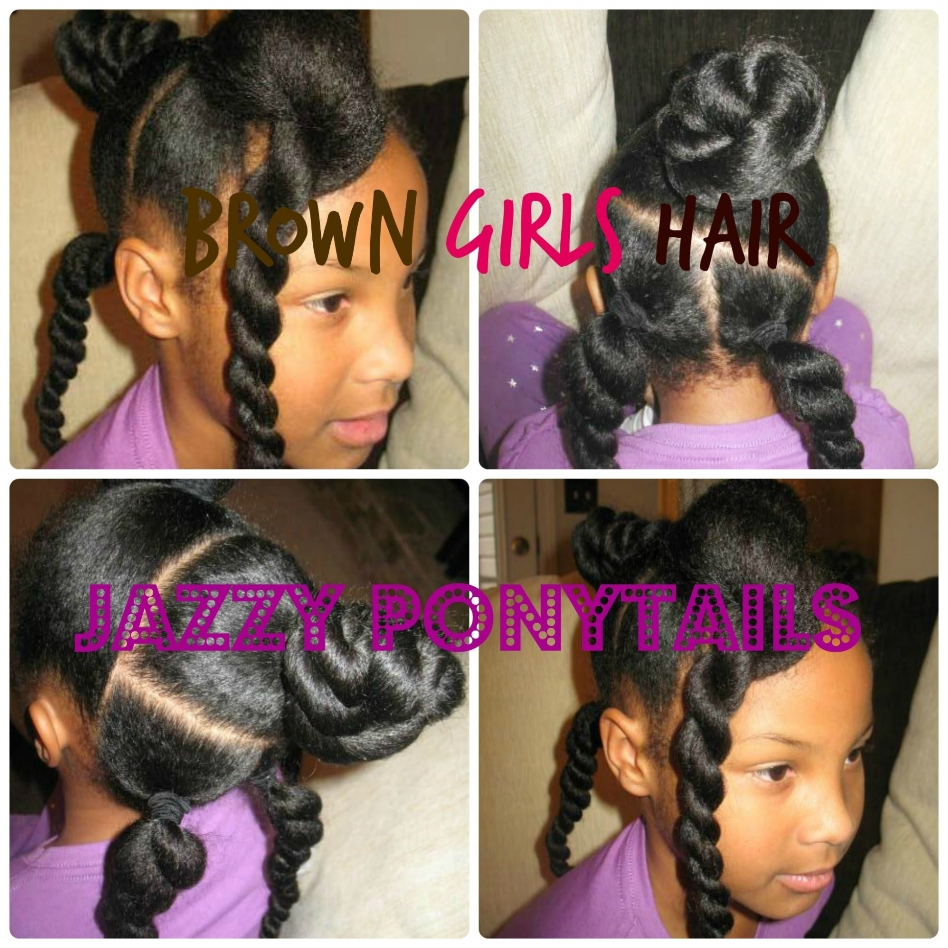 Black Little Girl Hairstyles Short Hair – Hairstyle For Women & Man With Regard To Black Updos For Short Hair (View 8 of 15)