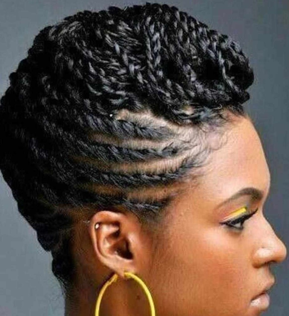 Black Professional Natural Hairstyles And African American Haircuts 2018 Inside Updos For African American Natural Hair (View 6 of 15)