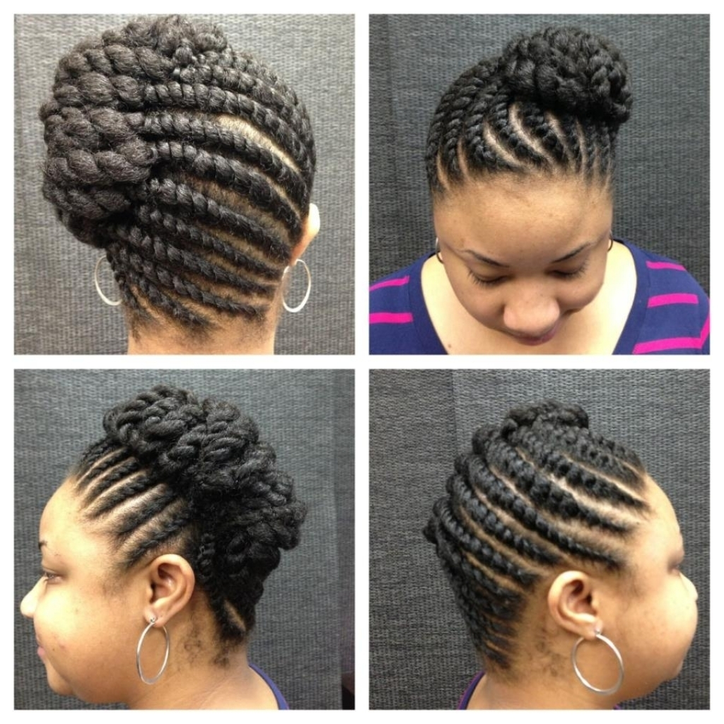 Photo Gallery Of Twisted Updo Hairstyles Viewing 15 Of 15 Photos