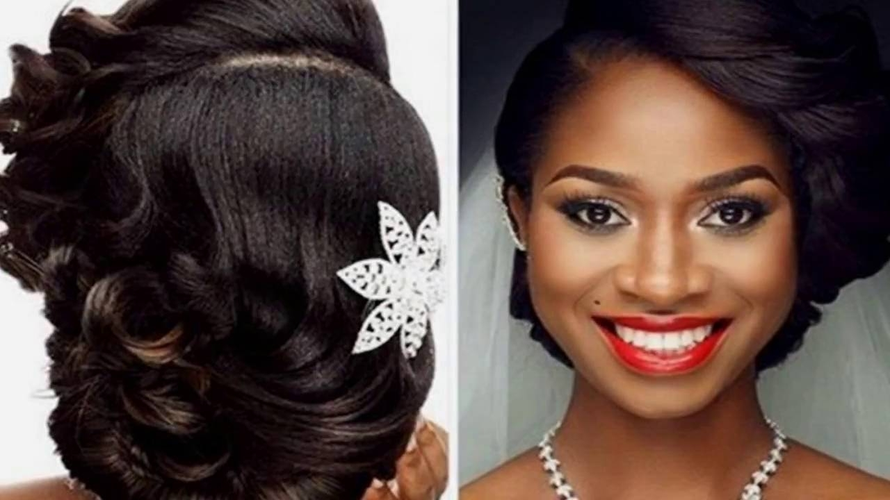 Black Wedding Hairstyles – Youtube Within Sew In Updo Hairstyles (View 5 of 15)
