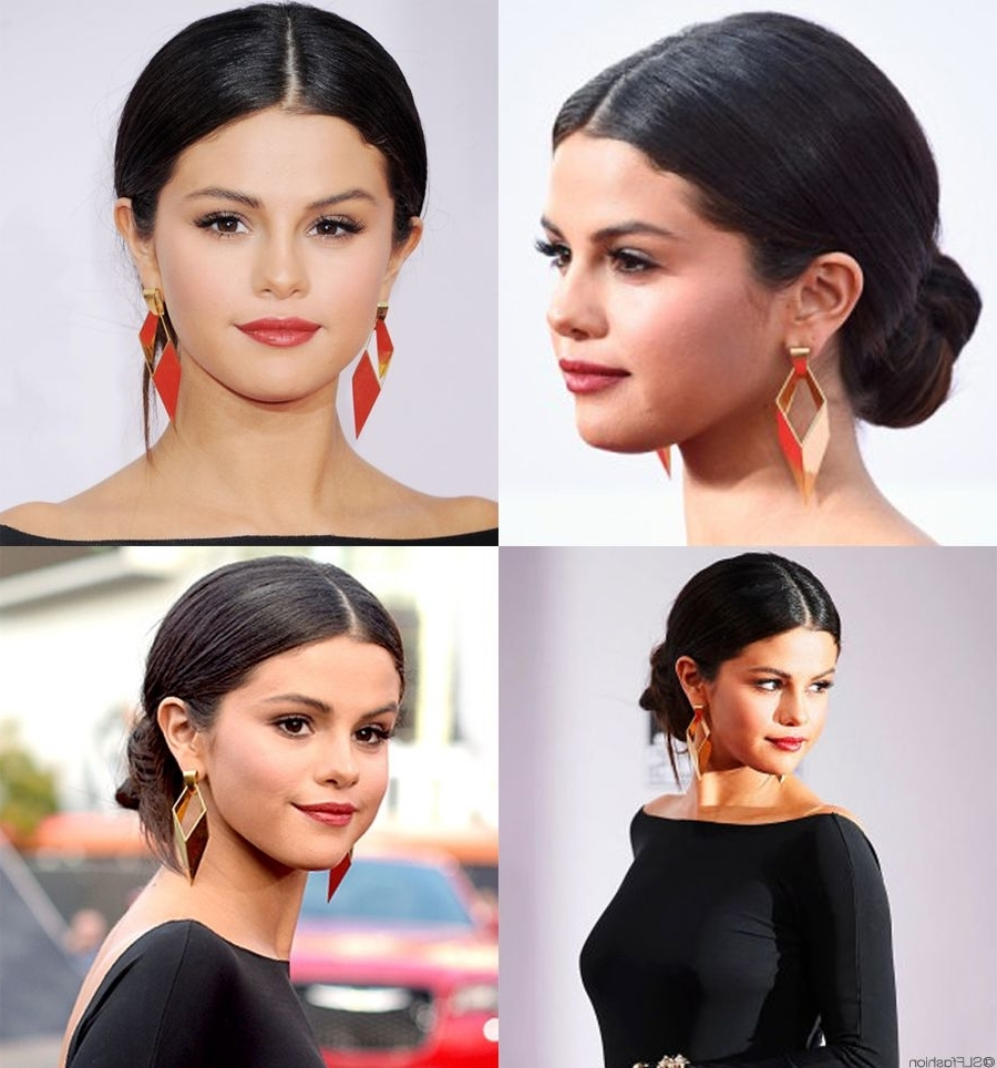 Black Women Hairstyles Up Dos | American Music Awards 2014, Chignon Inside Spanish Updo Hairstyles (View 2 of 15)