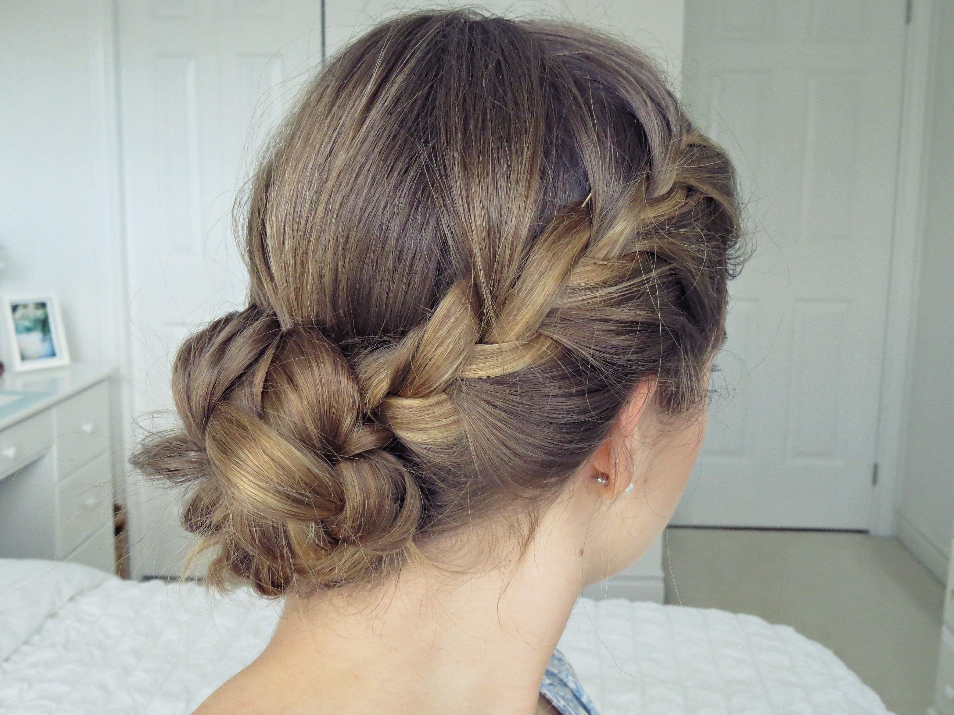 Bohemian Braid Updo | Hair Tutorial – Simple & Easy – Youtube In Boho Updos For Long Hair (View 6 of 15)
