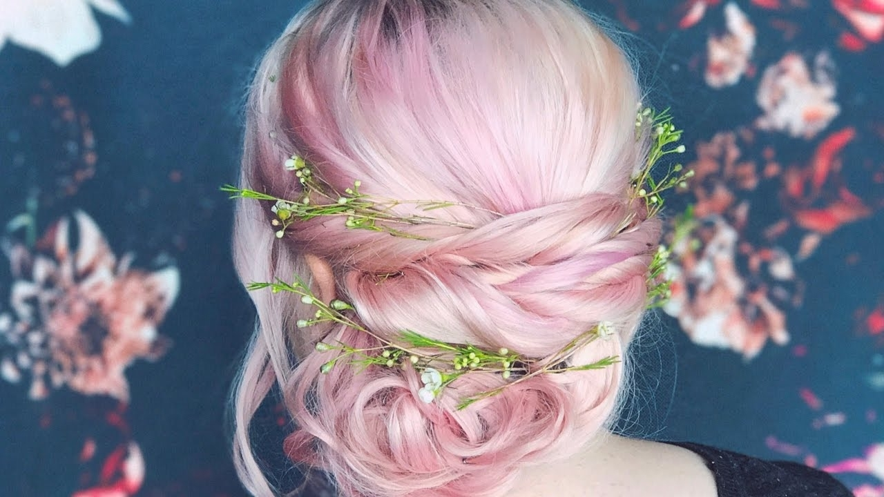 Boho Updo For Long Hair – Youtube In Boho Updos For Long Hair (View 9 of 15)