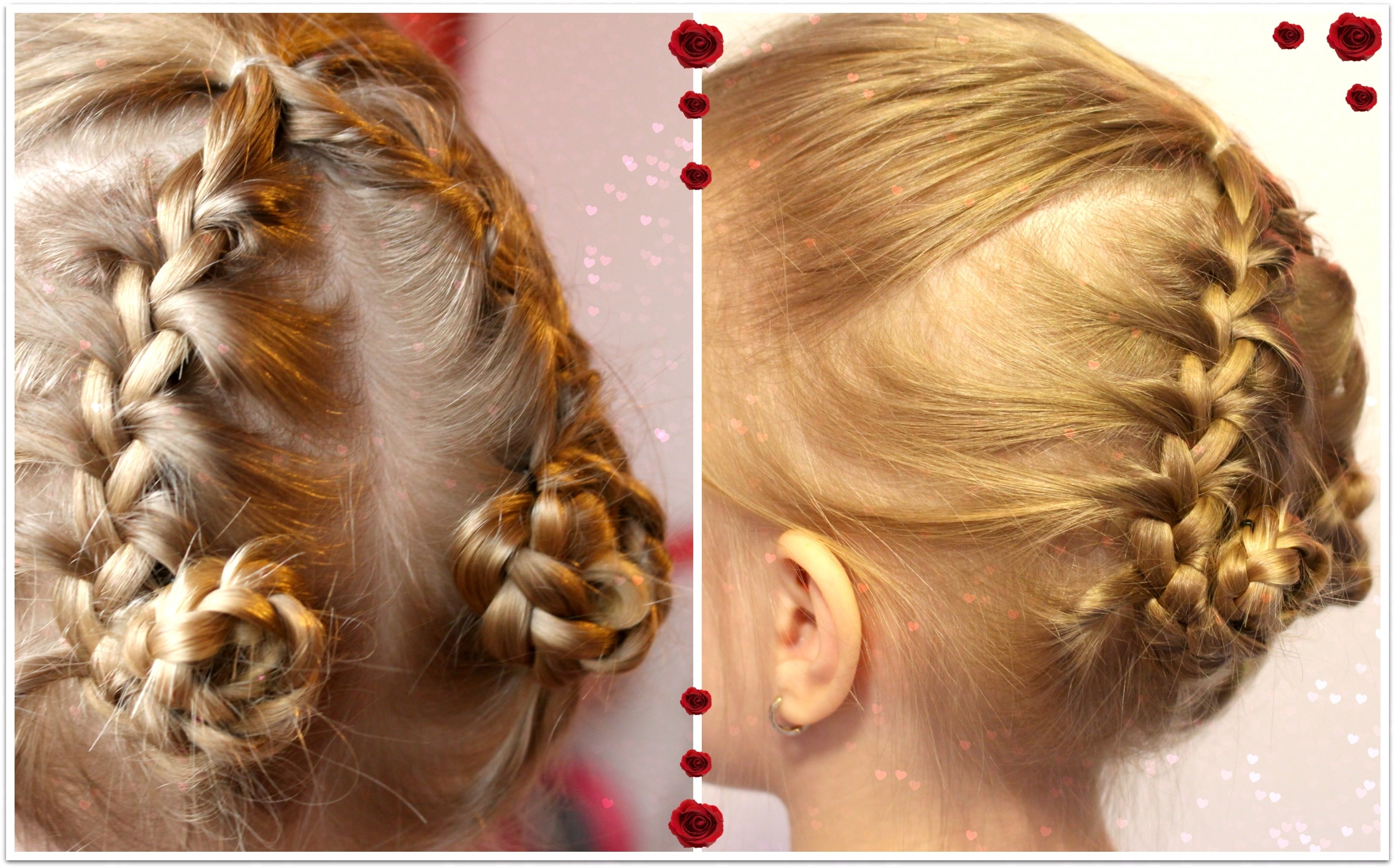 Braided Bun Hairstyle For Medium Thin Hair Youtube To Funny Hair Intended For Updos For Medium Thin Hair (View 5 of 15)
