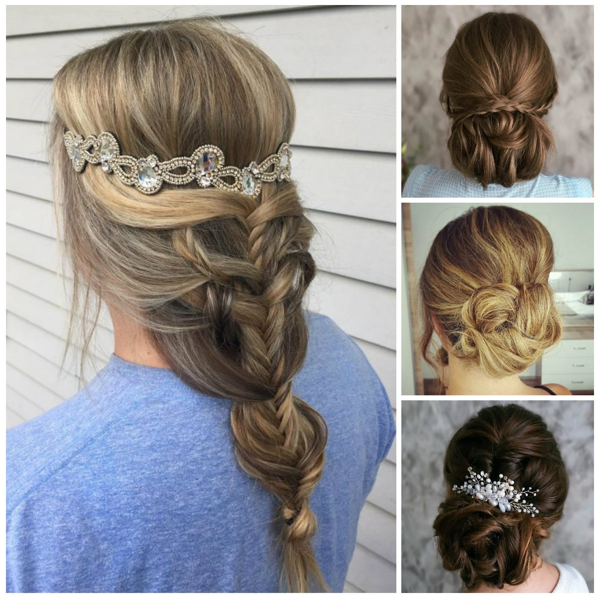 Braided Hairstyles | New Haircuts To Try For 2018, Hairstyles For Pertaining To Long Hair Updo Accessories (View 15 of 15)