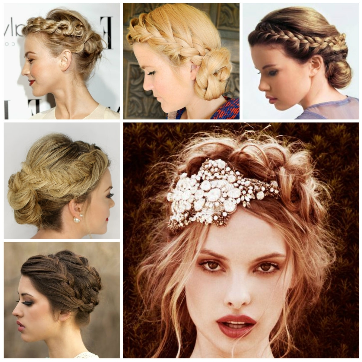 Braided Updo Hairstyle Ideas | New Haircuts To Try For 2018 With Regard To New Updo Hairstyles (View 7 of 15)