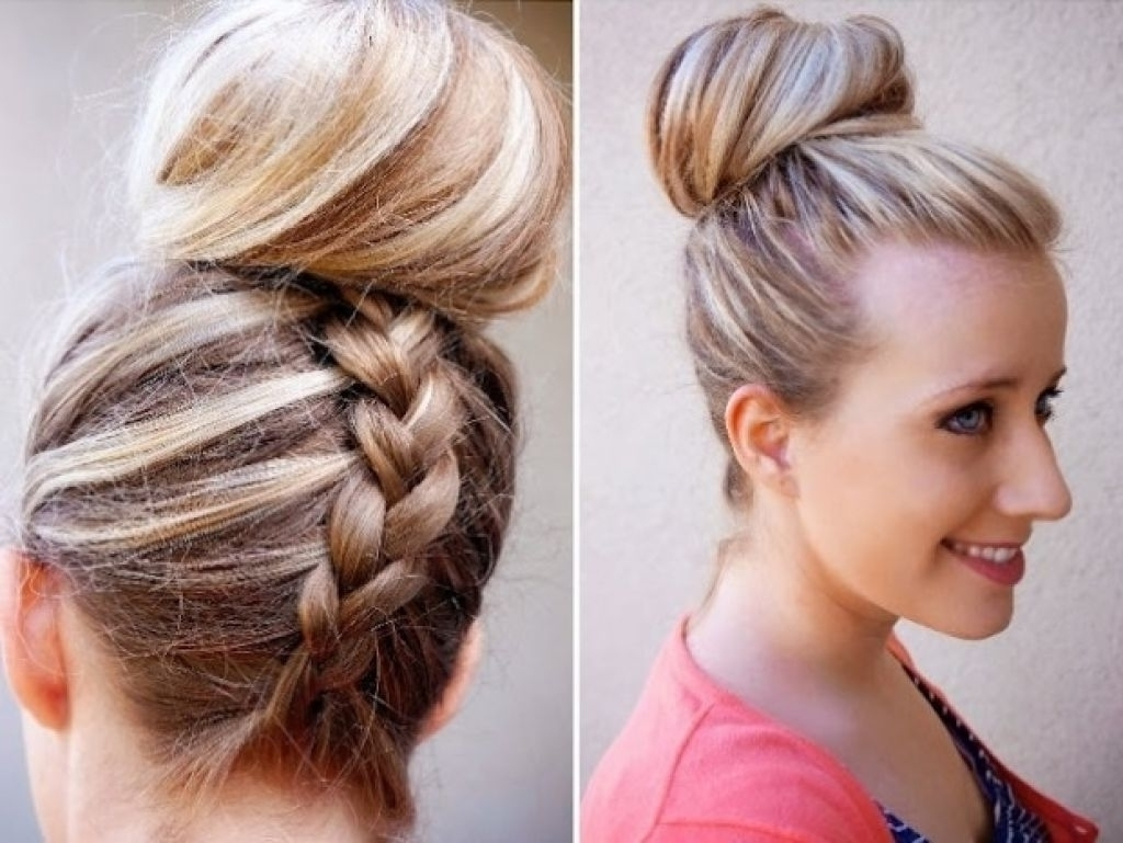 Braided Updo Hairstyles For Long Hair 15 Braided Hairstyles For Long Pertaining To Quick Braided Updo Hairstyles (View 7 of 15)