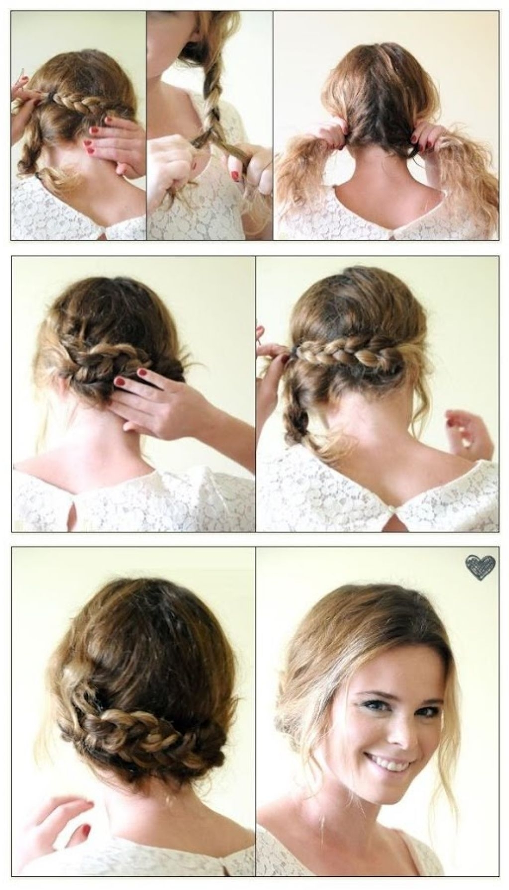 Braided Updo Hairstyles For Short Hair Prom Hairstyles For Long Hair Regarding Messy Updo Hairstyles For Prom (View 13 of 15)