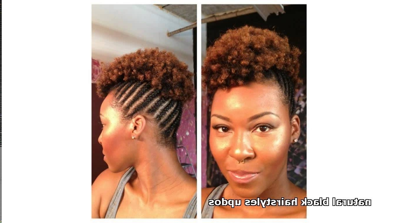 Braided Updos For Black Women – Hairstyle For Women & Man With Black Natural Hair Updo Hairstyles (View 12 of 15)