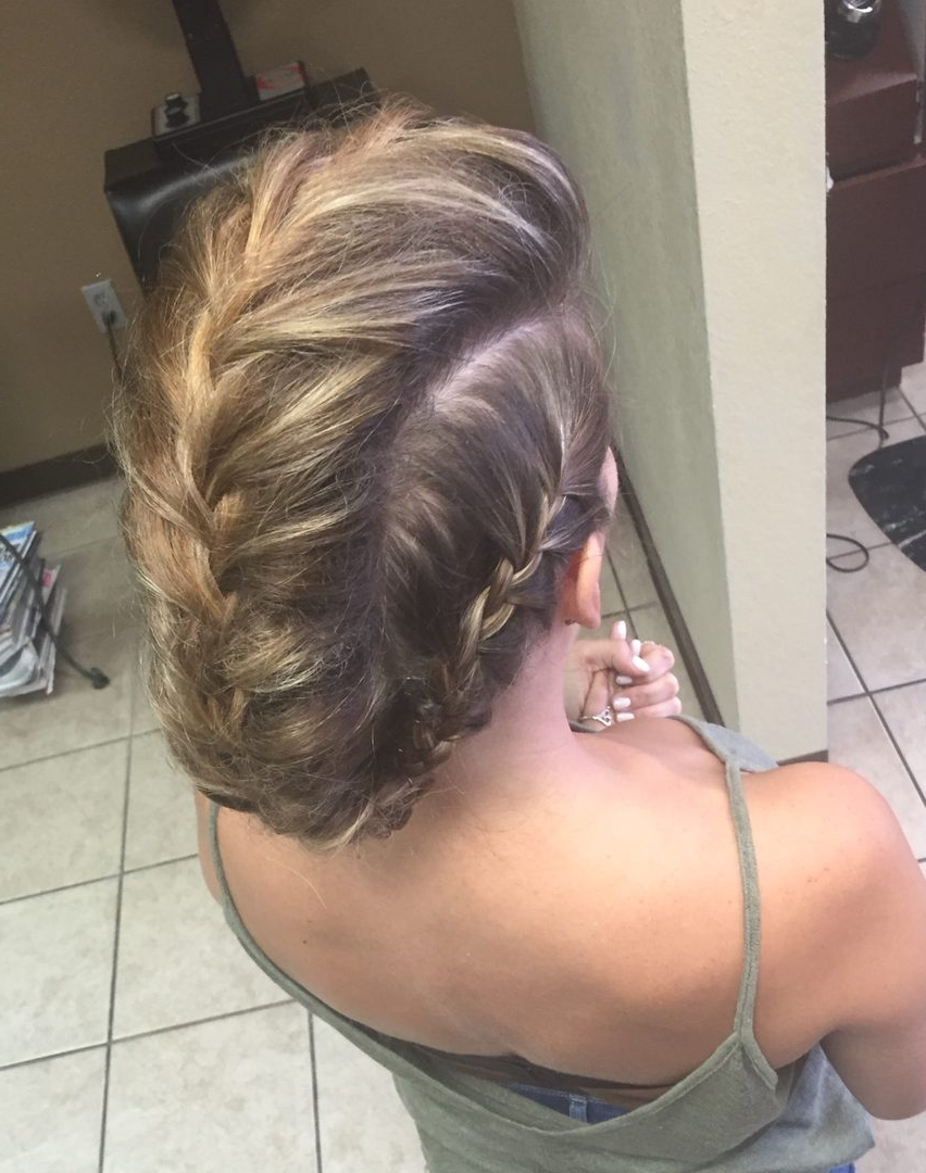 Braids For Medium Thin Hair – The Newest Hairstyles With Updos For Fine Thin Hair (View 7 of 15)