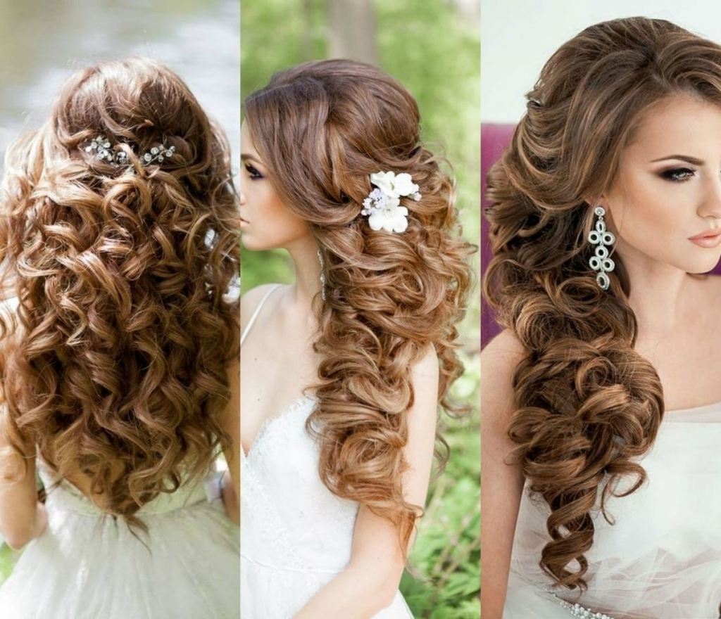 Bridal Curly Hair Bridal Hairstyles Curly Hair Ideas Wedding Decor Within Bridal Updos For Curly Hair (View 10 of 15)