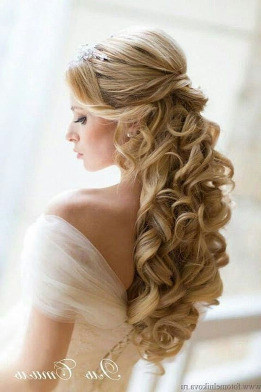 Bridal Hairstyles – Google Search | Bridal Hairstyles | Pinterest Intended For Bridal Updos For Curly Hair (View 14 of 15)