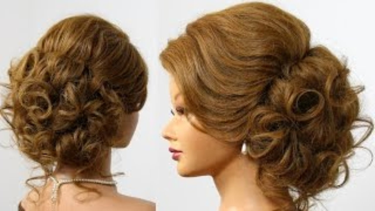 Bridal Prom Updo (View 4 of 15)