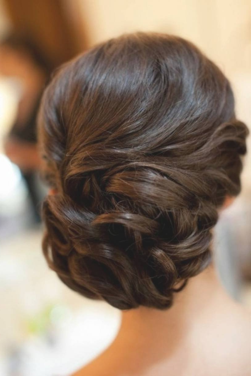 Bridal Updo Hairstyles Wedding 50Th Anniversary Cakes Affordable Throughout Updo Hairstyles For Weddings Long Hair (View 7 of 15)
