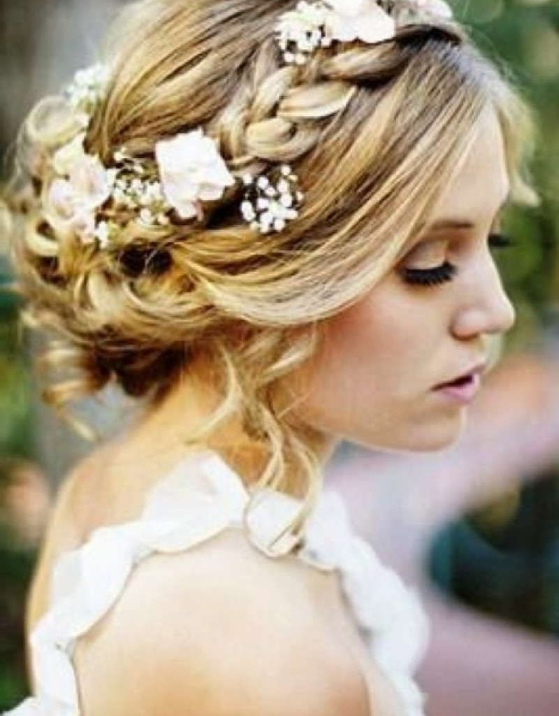 Bridesmaid Hairstyles For Medium Hair | Bridesmaid Hairstyles With Regard To Wedding Updos For Medium Hair (View 6 of 15)
