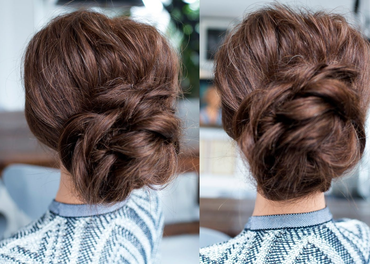 Bridesmaid Hairstyles Updos For Long Hair Hairstyle Ideas In In Quick Easy Updo Hairstyles For Thick Hair (View 9 of 15)