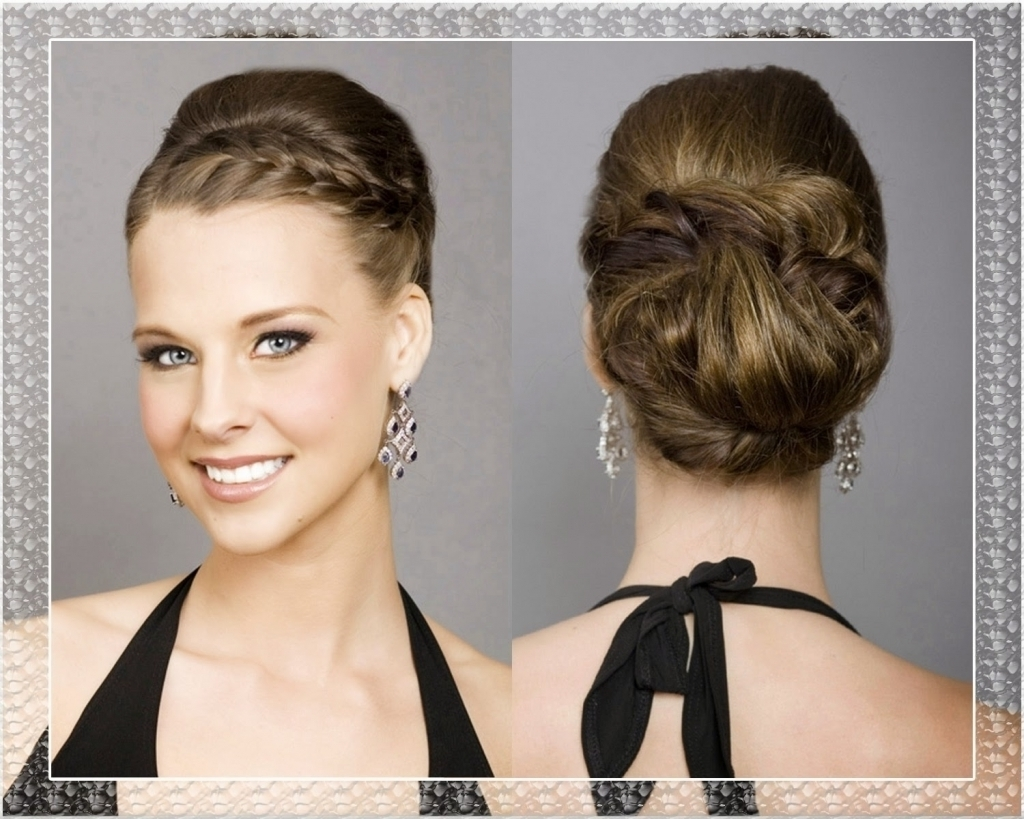 Bridesmaids Updos For Long Hair Wedding Bridesmaid Hairstyles For Throughout Hairstyles For Bridesmaids Updos (View 7 of 15)