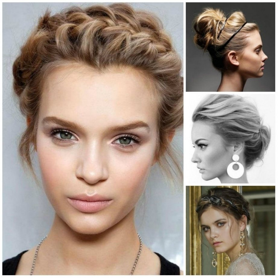 Casual Updo For Long Hair Casual Updo Hairstyles For Medium Length Pertaining To Updo Hairstyles (View 12 of 15)