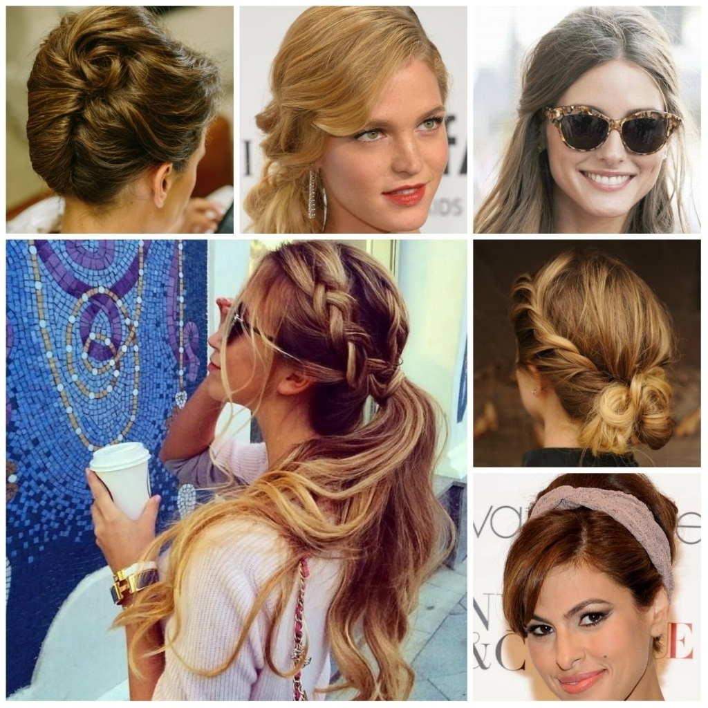 Casual Updo Hairstyles For Long Hair Easy Casual Updo Hairstyles For Pertaining To Cute Updos For Long Hair Easy (View 6 of 15)