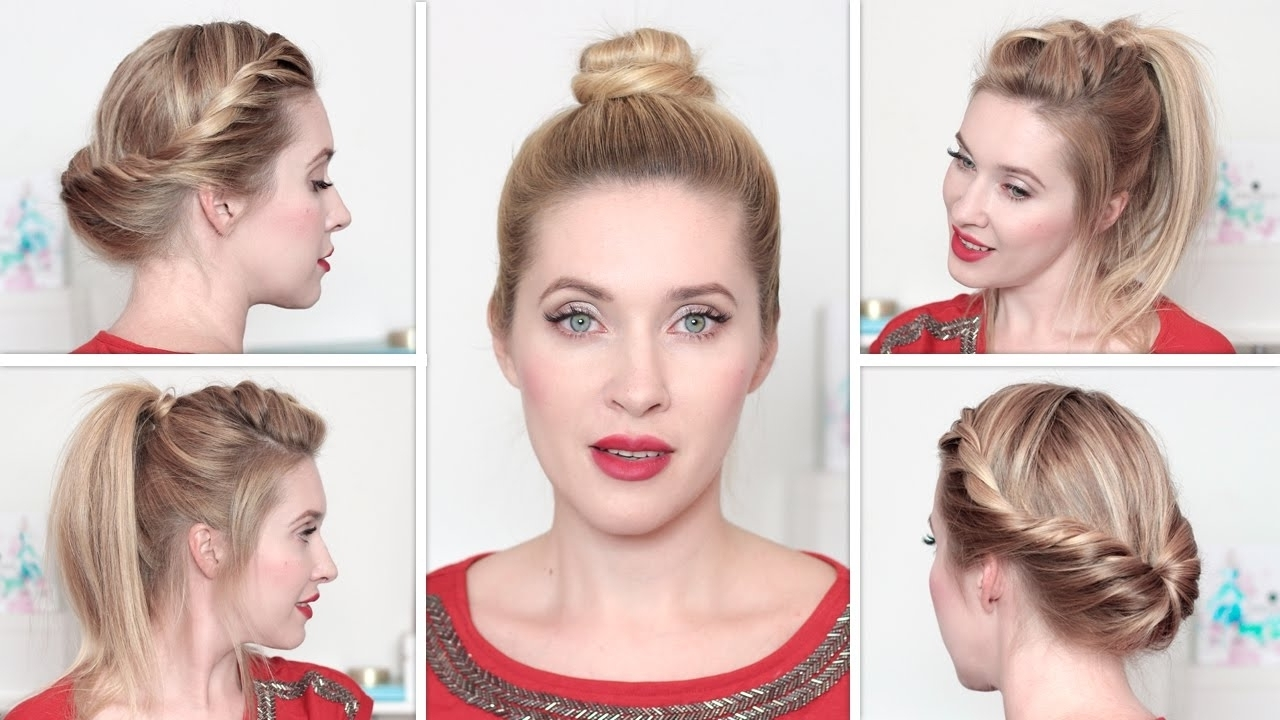 Casual Updo Hairstyles For Long Hair Tag Easy Casual Updo Hairstyles Regarding Easy Everyday Updo Hairstyles For Long Hair (View 14 of 15)