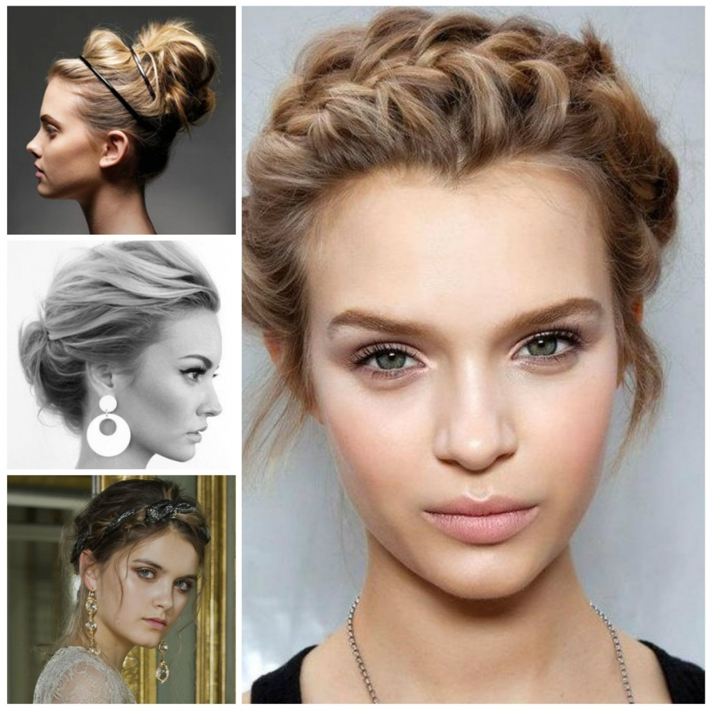Casual Updo Hairstyles For Medium Length Hair – Glamour Women Hairstyle With Casual Updos For Shoulder Length Hair (View 14 of 15)