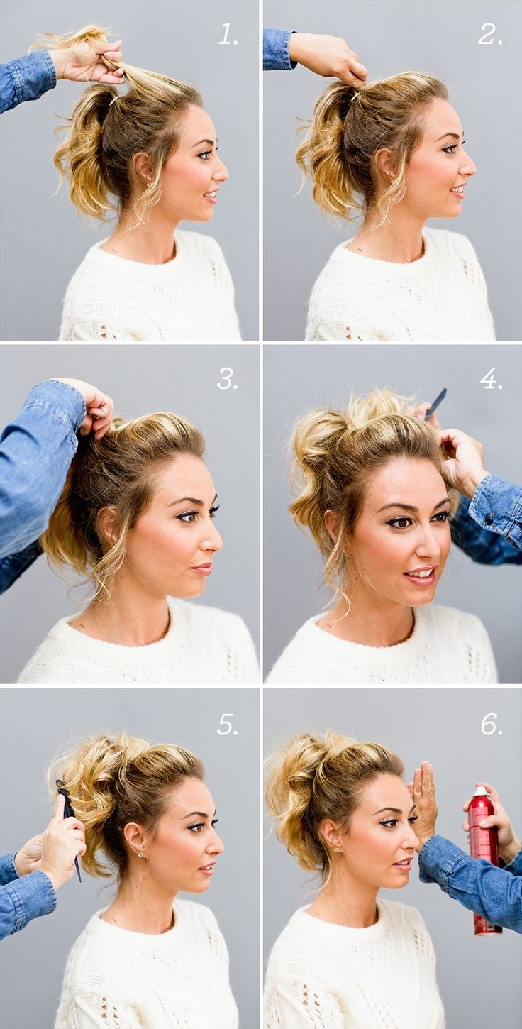 Casual Updos Short Curly Hair 1000+ Ideas About Casual Updo Tutorial For Casual Updos For Curly Hair (View 13 of 15)