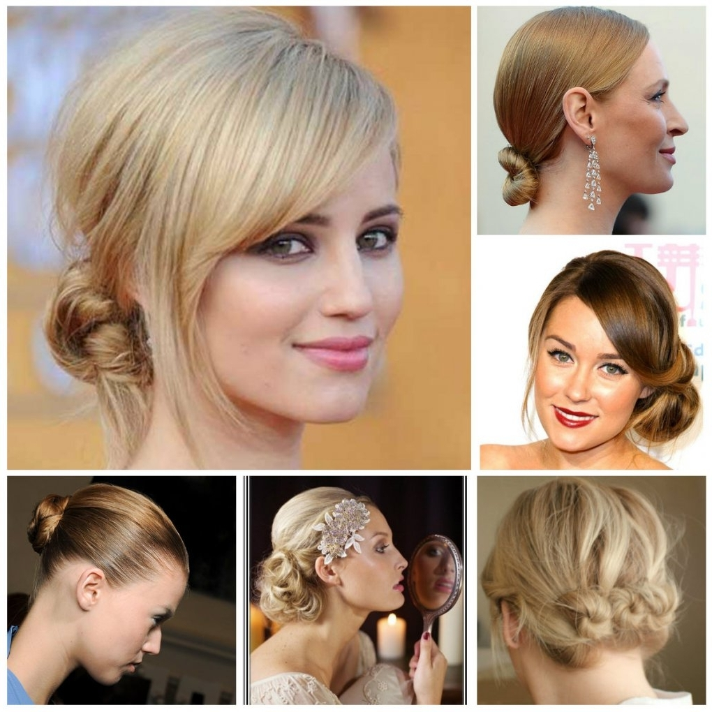 Coolest Bun Hairstyles For Short Hair 2017 | New Haircuts To Try In Updo Hairstyles For Short Hair (View 2 of 15)