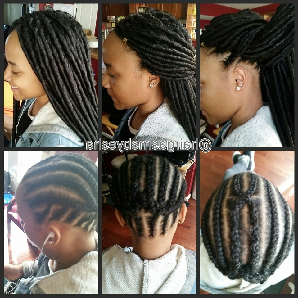 Crochet Faux Locs | Braids | Pinterest | Faux Locs, Locs And Crochet Throughout Crochet Braid Pattern For Updo Hairstyles (View 7 of 15)