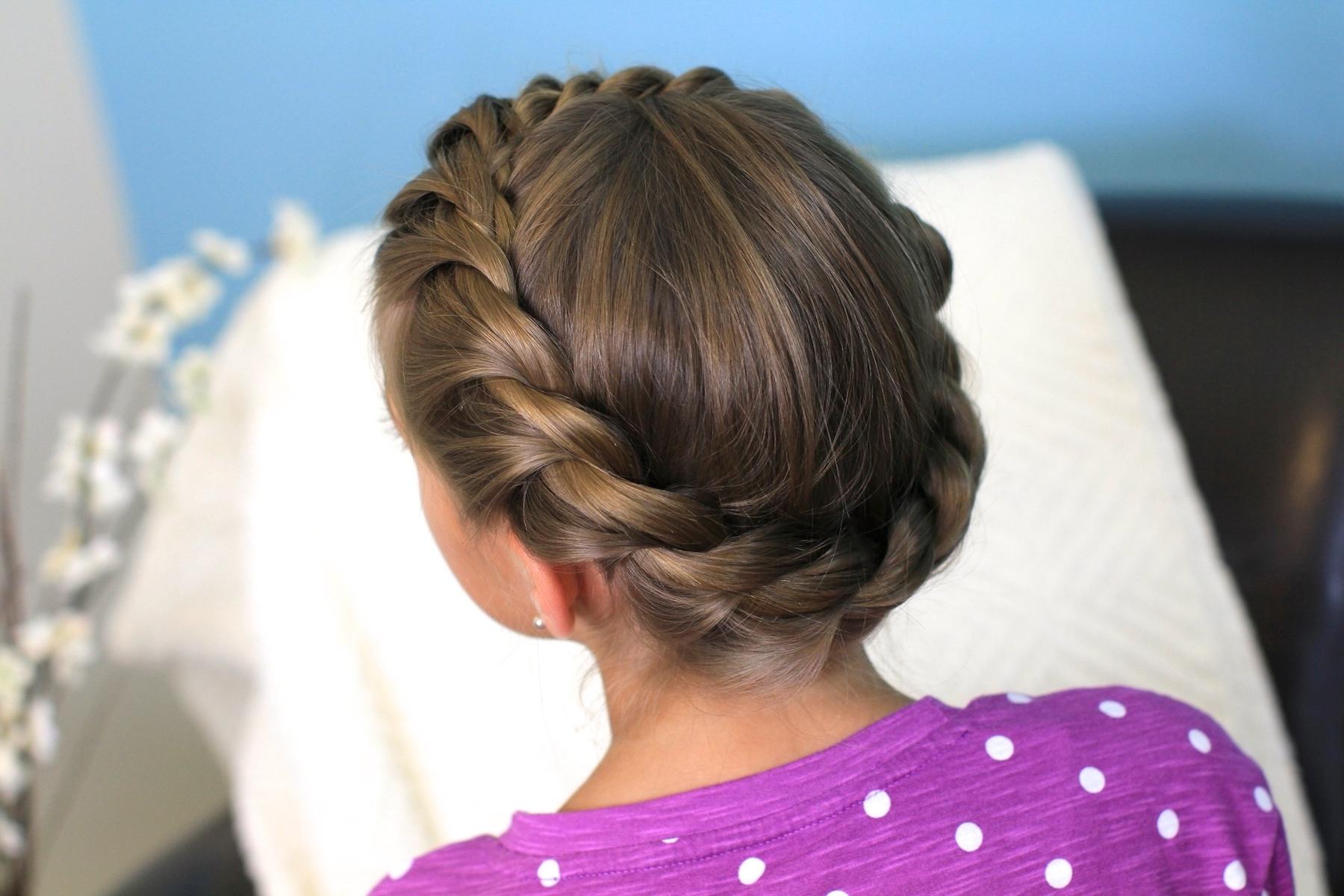 Crown Rope Twist Braid | Updo Hairstyles | Cute Girls Hairstyles Intended For Little Girl Updo Hairstyles (View 15 of 15)