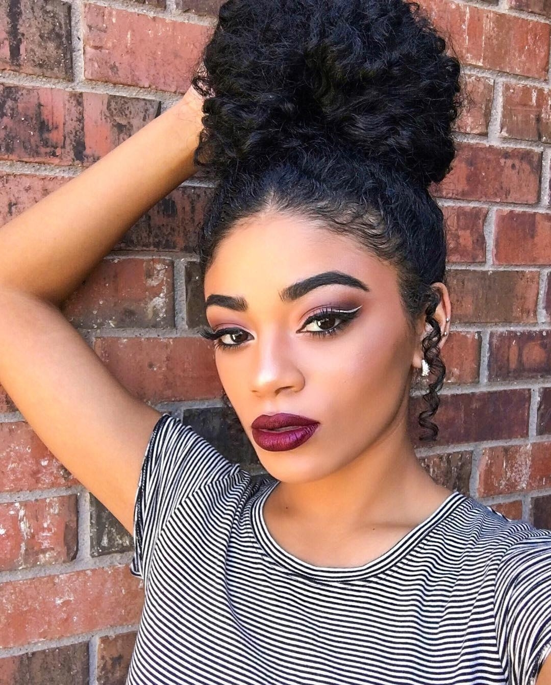 Featured Photo of Curly Updos For Black Hair