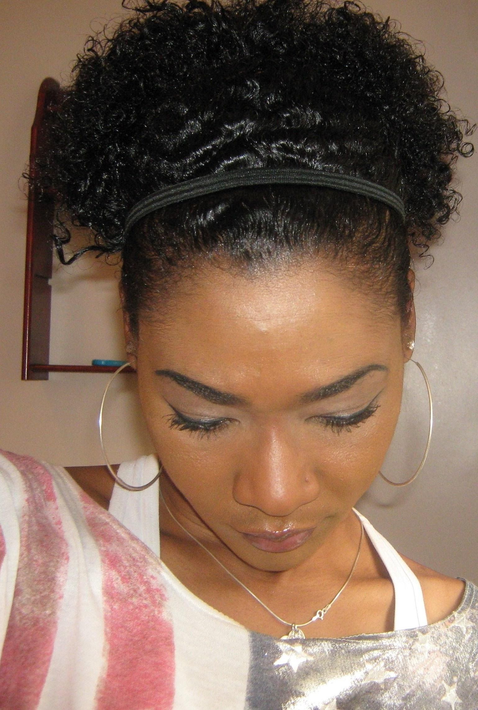 Featured Photo of Curly Updo Hairstyles For Black Hair