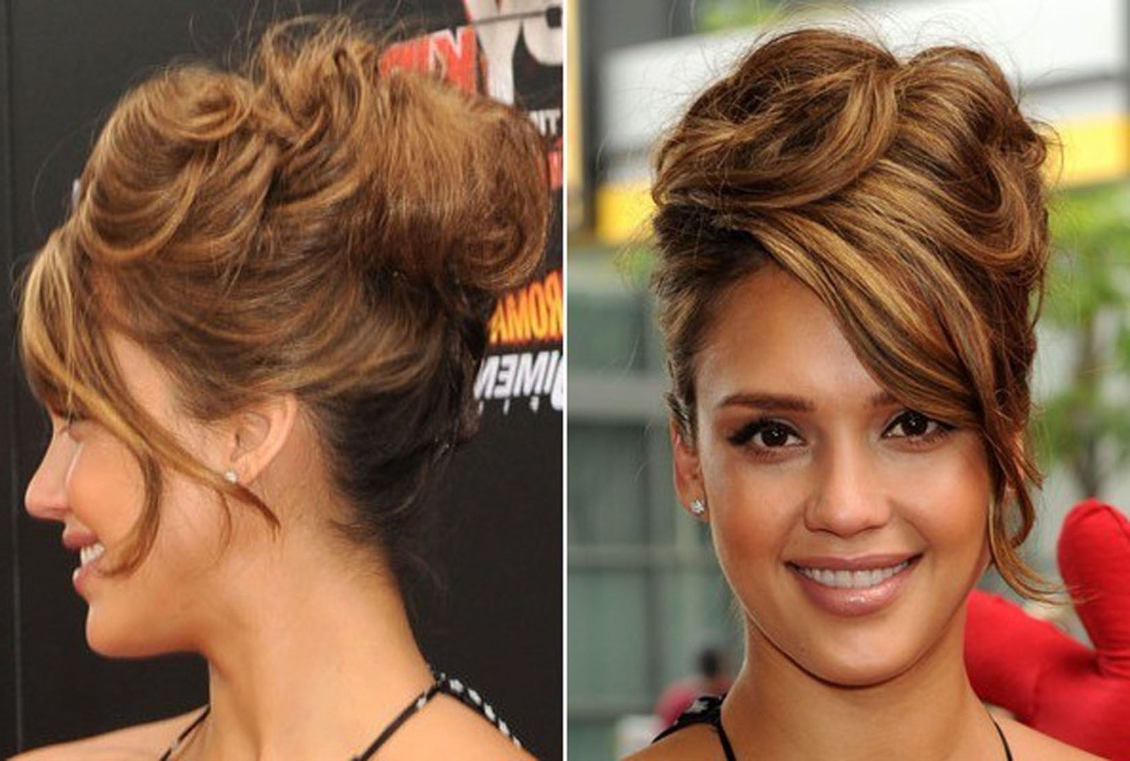 Photo Gallery Of Messy Updo Hairstyles Viewing 15 Of 15 Photos