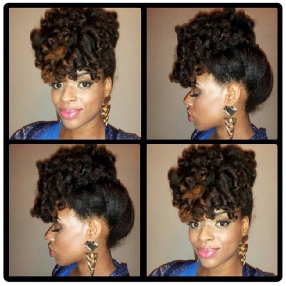 Curly Updo✨ This Can Be Achievedusing Flexirods Or Large Perm In Updo Hairstyles For Permed Hair (View 3 of 15)