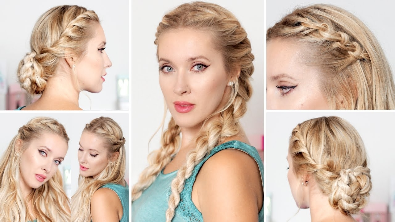 Cute Easy Hairstyles For School, Medium Long Hair ☆ Frisuren Für In Easy And Cute Updos For Medium Length Hair (View 5 of 15)