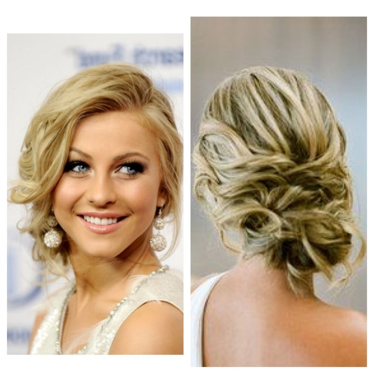 Cute Hairstyle :) | Hair Styles | Pinterest | Prom, Prom Hair And Regarding Loose Bun Updo Hairstyles (View 3 of 15)