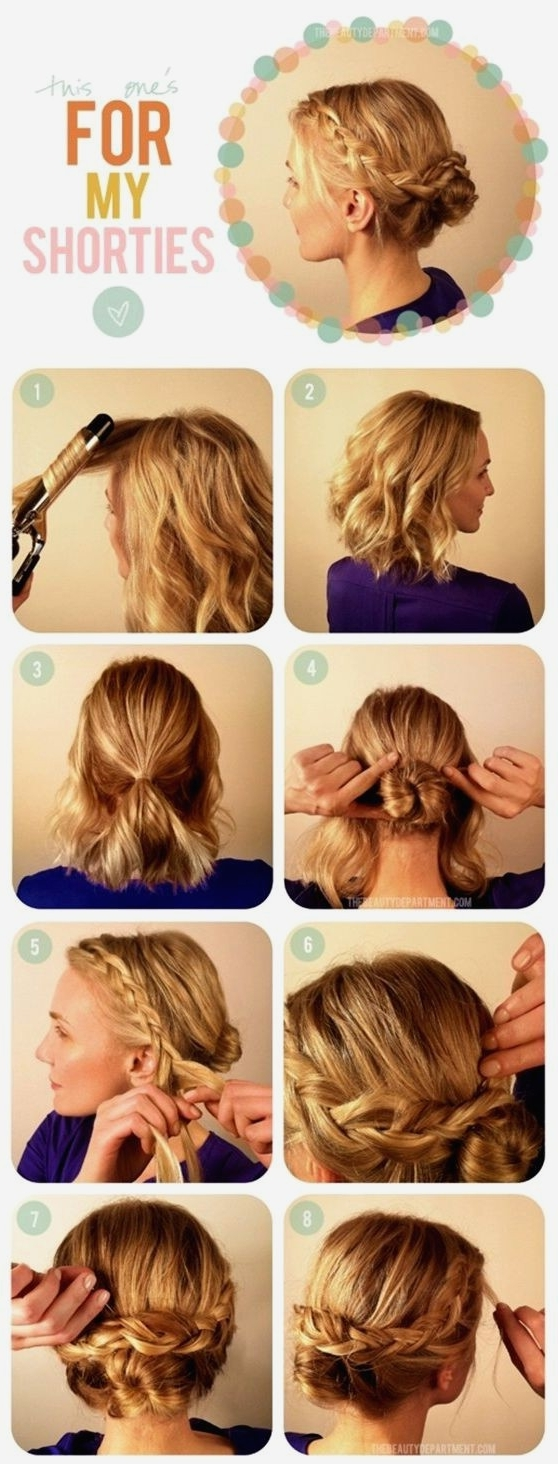 Cute Hairstyles : Creative Cute Easy Updo Hairstyles New At Hair In Easy Updo Hairstyles (View 8 of 15)
