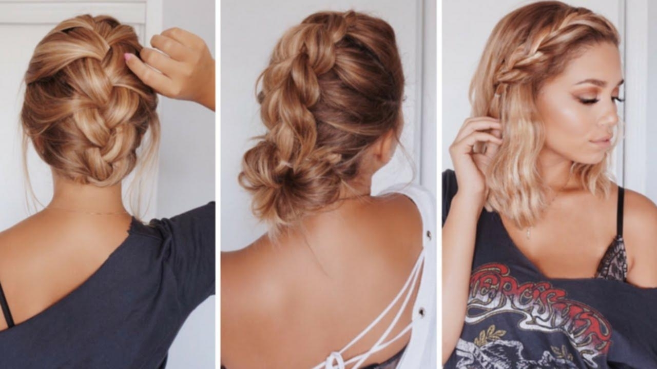 Cute Hairstyles For Medium Length Hair Easy Maxresdefault Images Within Easy And Cute Updos For Medium Length Hair (View 6 of 15)