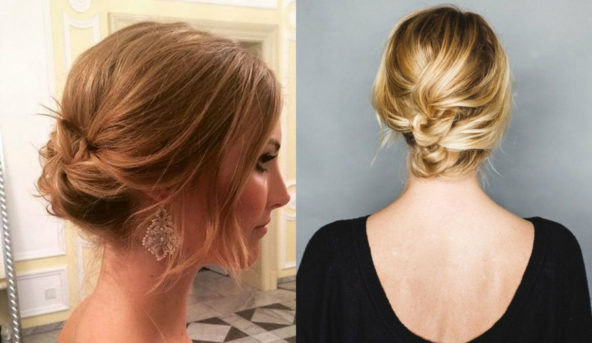 Cute Short Hair Updo Hairstyles You Can Style Today | Hairdrome For Cute Updos For Short Hair (View 7 of 15)